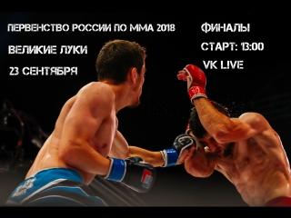 Союз ММА L!VE: Первенство России по ММА 2018 (ФИНАЛЫ)