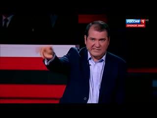 БЕСНОВАТОСТЬ лечится лоботомией! Гости Соловьева едва не подрались в прямом эфире!