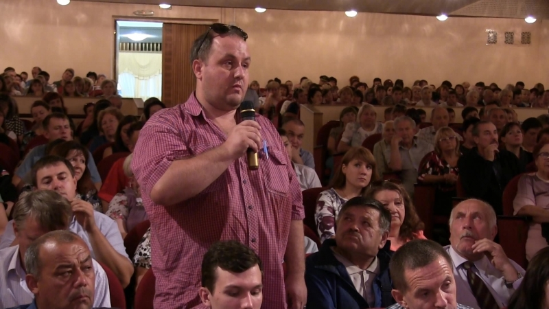 Встреча начальника ГУ МВД России по Саратовской области с жителями Ленинского района г. Саратова