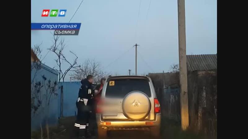 Калужанин пытался скрыться от сотрудников ГИБДД Крыма после ДТП
