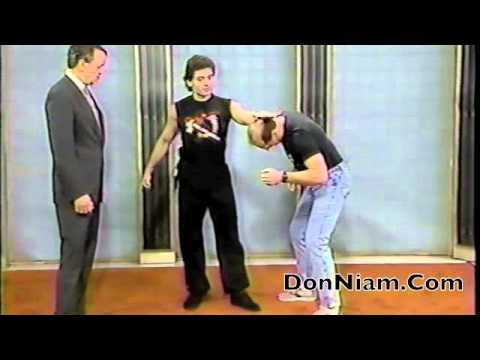 Don Niam teaches Self Defense abc TV Cleveland