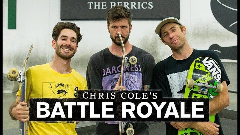 Chris Cole Battles With Dane Burman And Reuben | Battle Royale