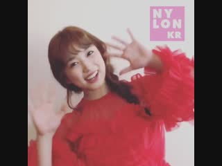 181106 NylonKorea instagram update with Nako