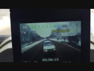 В Татарстане водитель «Лада Гранта», заснув, врезался в миксер