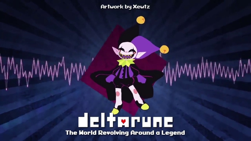 Deltarune - The World Revolving Around a Legend [Remix by NyxTheShield]