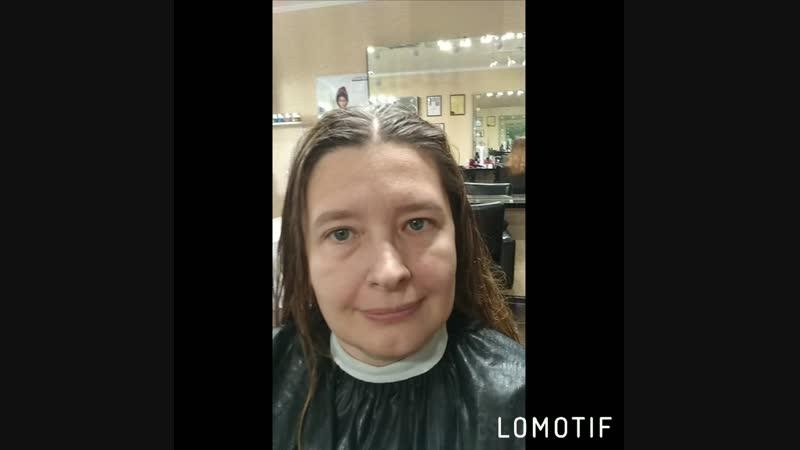 Экспресс макияж и стрижка для Марины