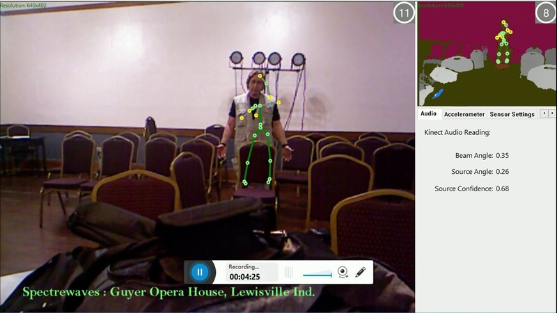 Guyer opera house kinect activity 1