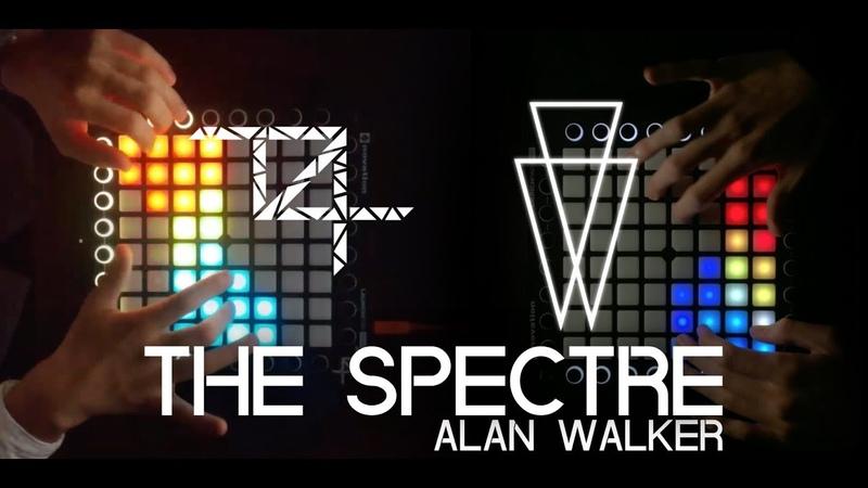 Alan Walker - The Spectre   Launchpad Pro Collab w T4sh Project File