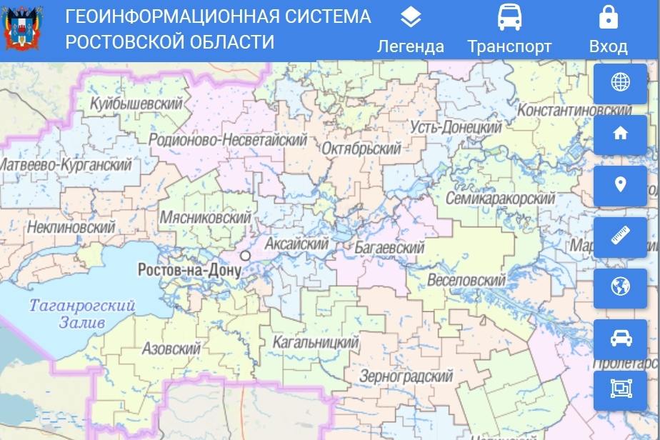 На Дону продолжается развитие региональной геоинформационной системы