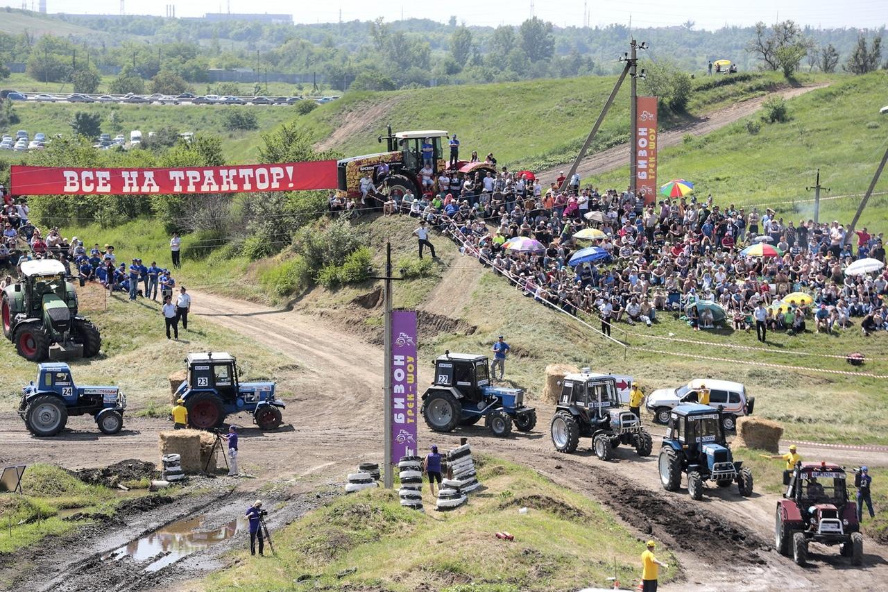 На 4 километре трассы «Ростов-Таганрог» вновь состоятся единственные в России гонки на тракторах