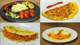 Четыре популярных рецепта из куриных яиц на завтрак от Всегда Вкусно!