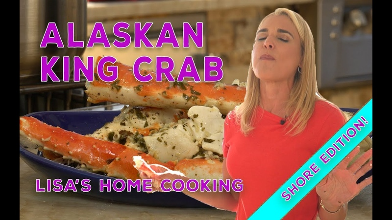 Awesome Alaskan King Crab You Have to Make!|Lisa's Home Cooking EP17|Shore Edition
