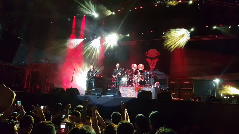 VENOM - Countess Bathory - Tecate Mexico Metal Fest III Monterrey Mex 06102018