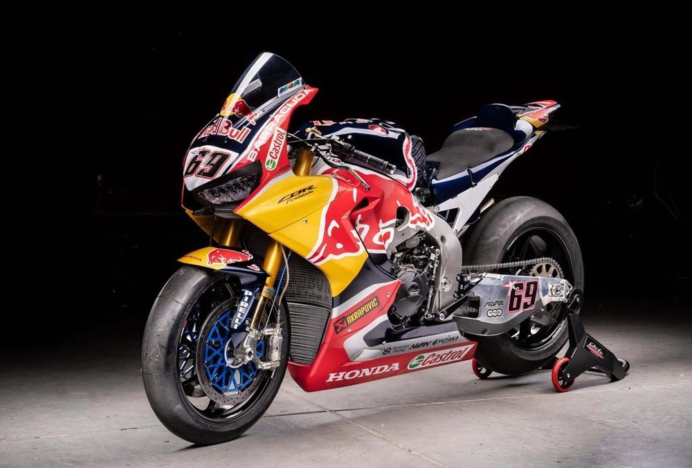 Honda CBR1000RR SP2 WorldSBK Ники Хейдена продаётся за 95 000 евро