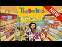 The Barkers (Barboskins, Barboskiny) In English games for kids online free Supermarket shopping