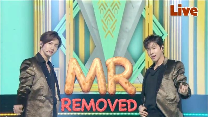 181231 (MR removed) 🔥동방신기(TVXQ) - Intro 주문(Mirotic) 운명 TRUTH @ MBC 가요대제전 Live
