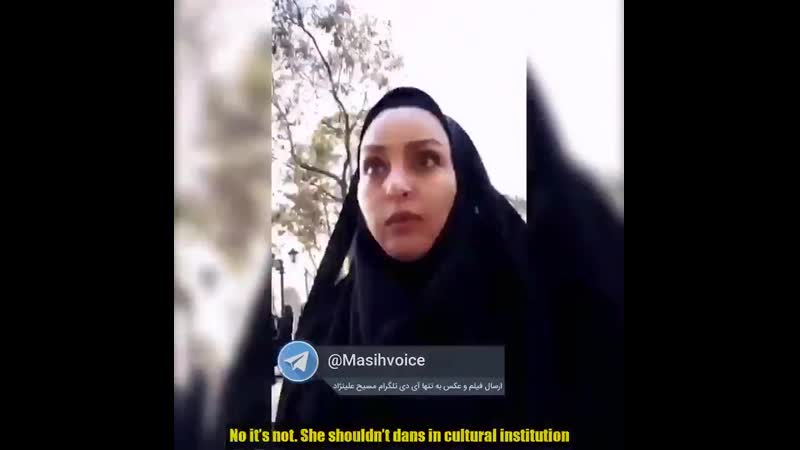 Iran - elle a 8 ans, elle danse, la police des moeurs intervient