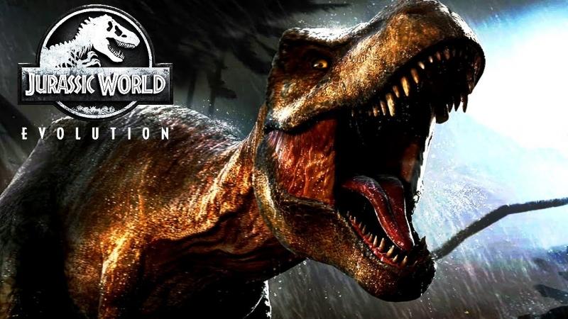 Вперед Назад в Прошлое Создаем мир динозавров Jurassic World Evolution
