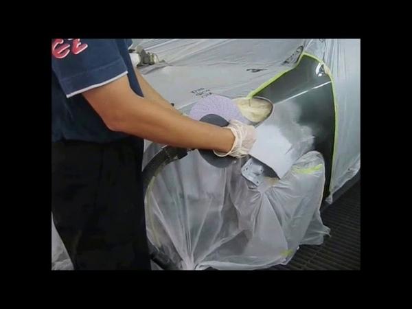Repair Work Procedure Metallic Movie automotive refinish kansai paint