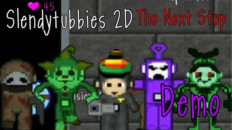 Slendytubbies 2D The Next Step Demo 1 0 0