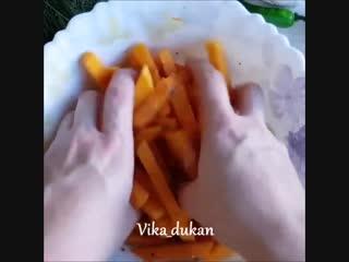 Картошка фри из тыквы Здоровое питание | Power of will