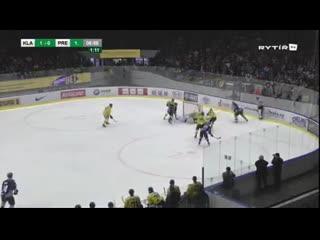 2.ČF play off Chance ligy: Rytíři Kladno - HC ZUBR Přerov 4:0