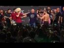 Conor McGregor vs Khabib Nurmagomedov weigh-in- Conor kicks out, Drake rocks Irish flag - UFC 229 (1).mp4