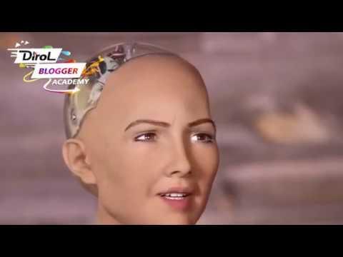 Новости будущего/Роботы/София/Танцующий робот DirolBlogger