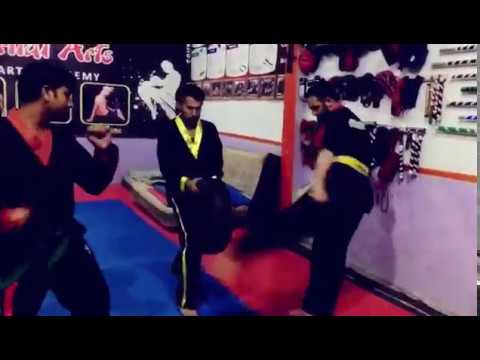 How to improve your kicking power : Tyre for Leg Conditioning by Asif Cheema