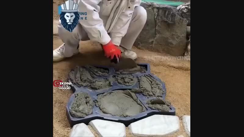 Форма для изготовления тротуарного камня Заметки строителя