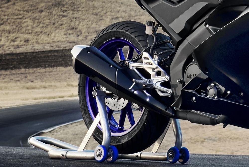 Intermot 2018: малокубатурный спортбайк Yamaha YZF-R125 2019
