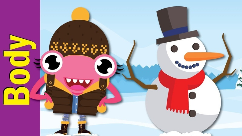 Let's Make a Snowman | Winter Song for Kids | Fun Kids English