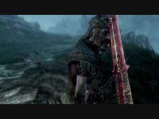 Skyrim - Уникальное оружие Бладскал