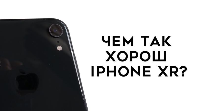 Обзор iPhone XR (2 SIM): чем он хорош?