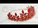 DIY | how to make a crown / tiara | tutorial membuat mahkota dengan swarovsky