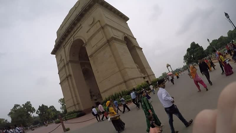 The India Gate New Delhi
