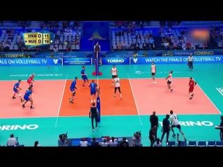 RUSSIA vs USA FIVB Mens World Championship 2018