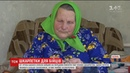 На Волині 87-річна бабуся навязала та передала бійцям півсотні пар теплих шкарпеток