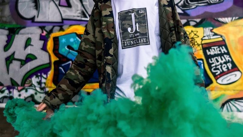 Цветной дым дымовая шашка зимний тест jungle музыка