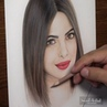 SanilArtist on Instagram Drawing of one of the most popular indian actress Priyanka Chopra @priyankachopra priyankachopra priyanka priyan