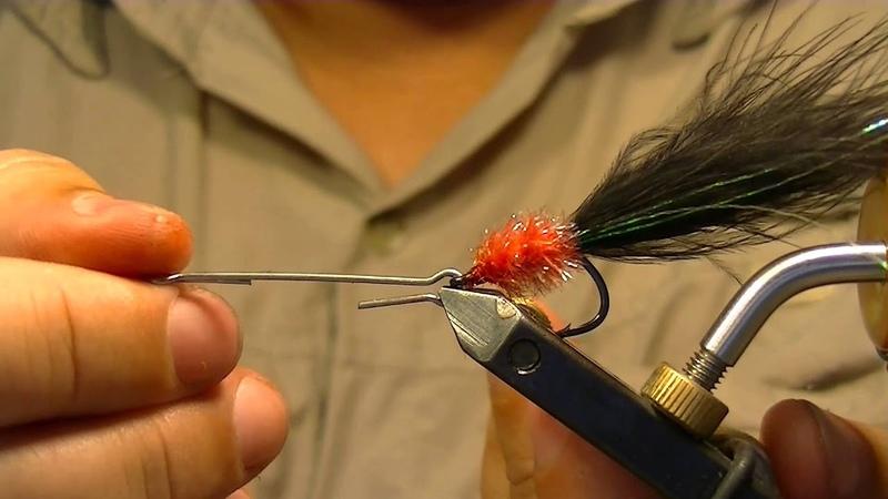 Fly tying 6.atado de mosca. woolly bugger king. El club del atado.