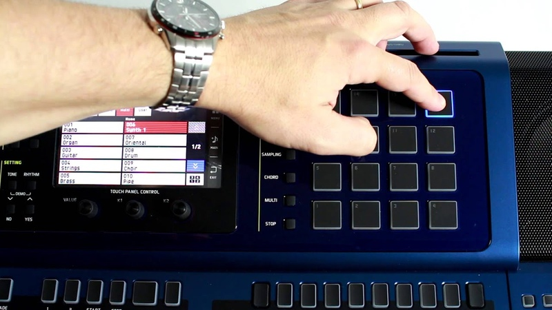 Casio MZ-X500 Music Arranger- Get to Know the Pads