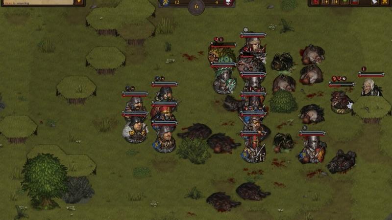 Battle Brothers Beasts Exploration DLC тактика Witch Hut Hexen obsidian dagger