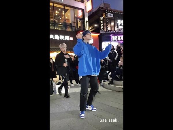 181214 홍대 디오비 dob 박진 focus 방탄소년단 bts - save me