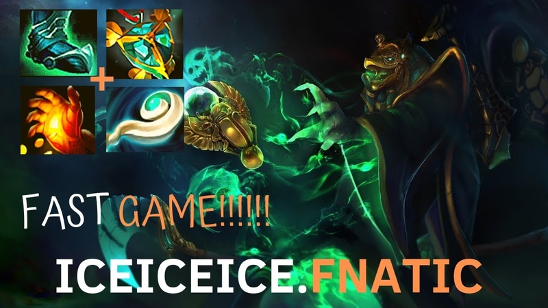 DOTA 2 - ICEICEICE FNATIC | NECROPHOS GAMEPLAY | FASTER GAME