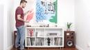 DIY Media / Record Console | Ikea Hack | Kallax Bookcase