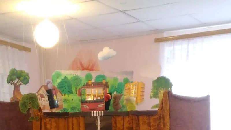 Сценарий спектакля кукольного театра по ПДД