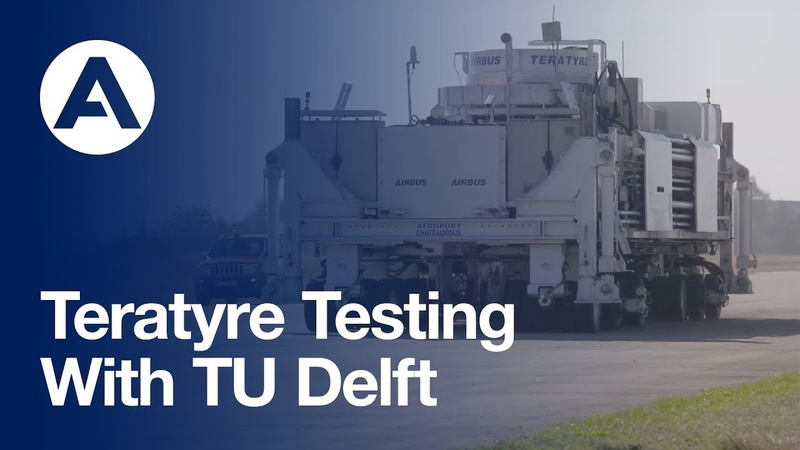 Delft University of Technology Team join Teratyre testing