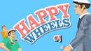 ЧТООО ПЕРСОНАЖ СЕЛ НА БУТЫЛКУ bottle flip challenge ХЕППИ ВИЛС Happy Wheels