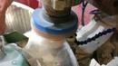 Криволинейная обработка полировка церием криволинейного фацета